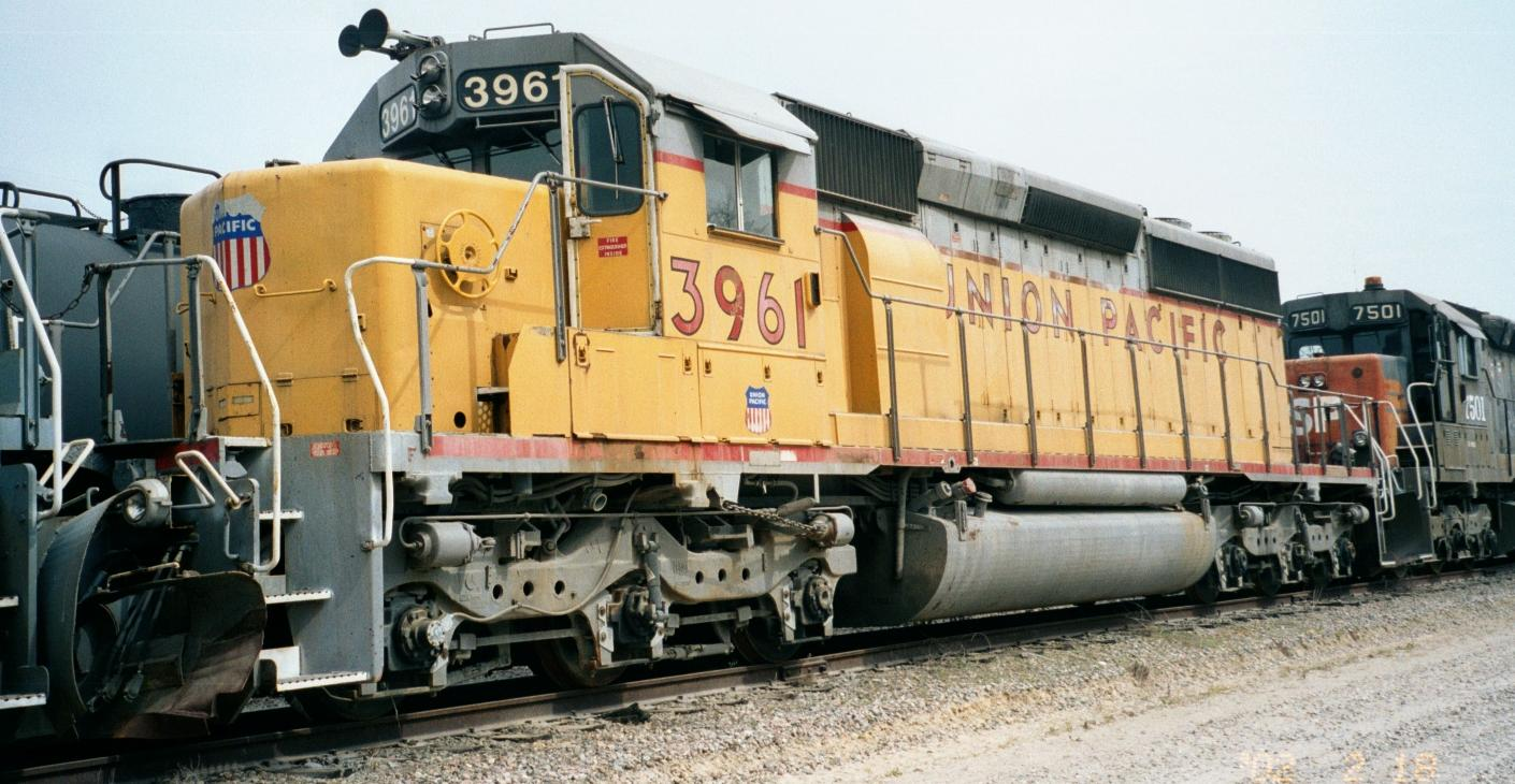 UP 3961: ...