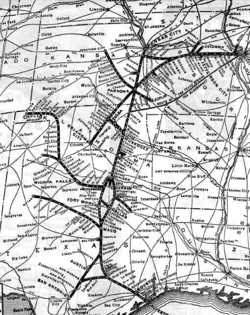 Katy map